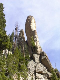 A Buttress on Mt. Crested Butte